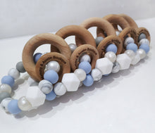 Load image into Gallery viewer, Periwinkle Teething Ring - mummyandaustinboutique