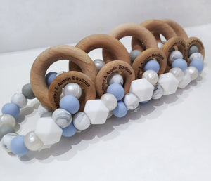 Periwinkle Teething Ring - mummyandaustinboutique