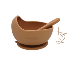 Load image into Gallery viewer, Silicone Bowl with free matching spoon!! - mummyandaustinboutique