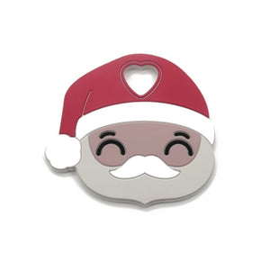 Santa | Silicone Teether - mummyandaustinboutique