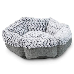 Soho Round Memory Foam Comfortable Ultra Soft Self Warming Cat & Dog Bed