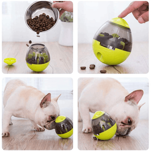 Interactive Cat and Dog Toy Treat Ball Food Dispenser