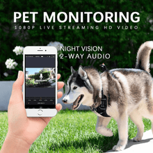 Load image into Gallery viewer, Pet Video Sports Camera Audio Video Kit with Chest Strap