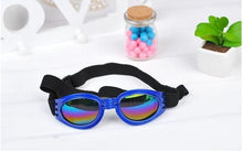 Load image into Gallery viewer, Dog Sunglasses/Goggles are UV protected Come in Multiple Colors