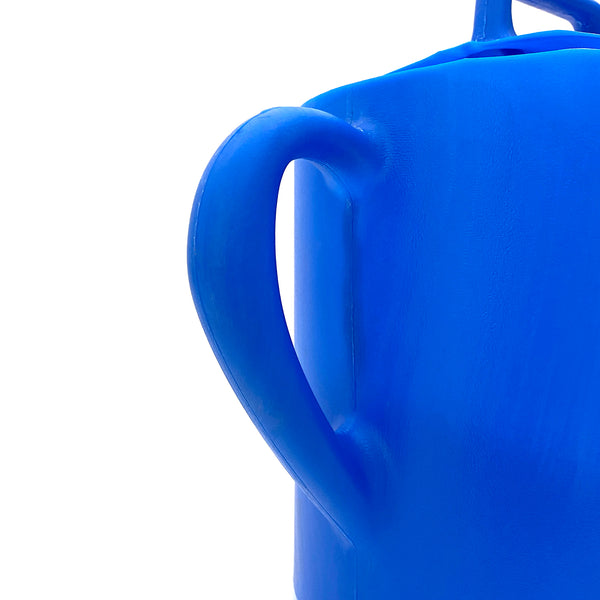 5 Litre Blue Watering Can with Dual Handles - Satopradhan