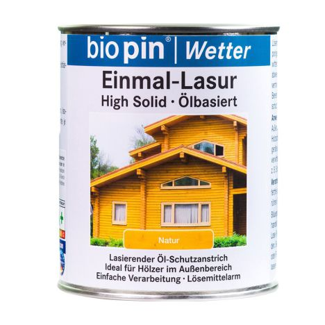 Biopin Oliebeits High-Solid (Einmal-Lasur)