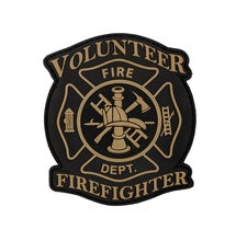 "4"" Volunteer Firefigher"