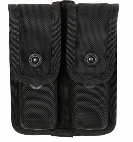 SB DOUBLE MAG POUCH (CM) BLACK