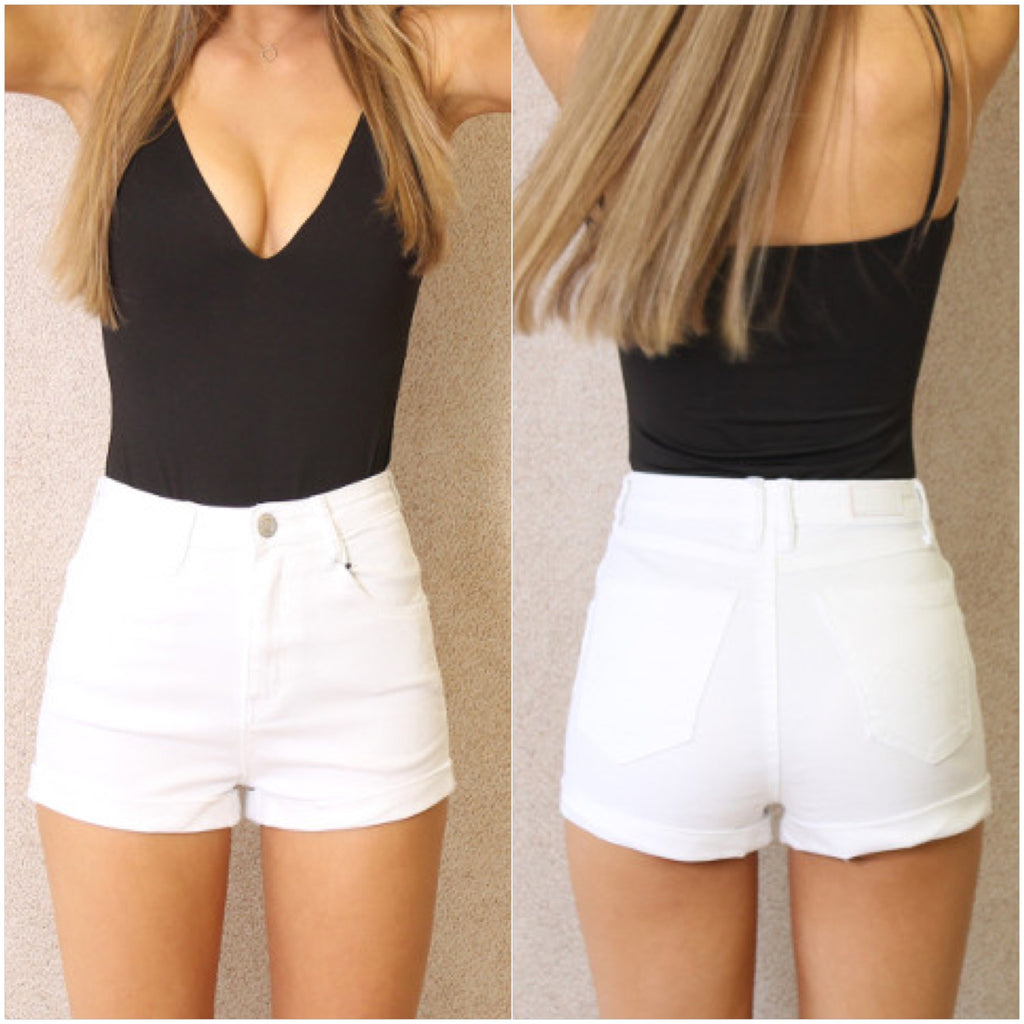 Angel Shorts White