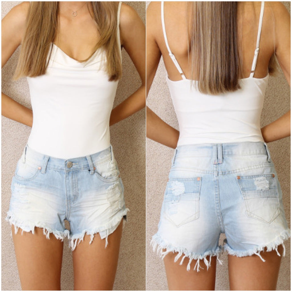 Indie Denim Shorts Light