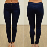 Silver Wishes Stretch Jeans