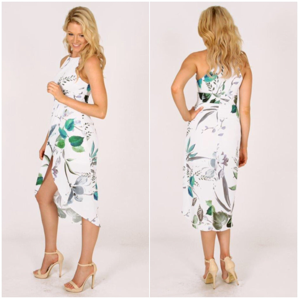 Third Love Waterfall Of Leaves Dress