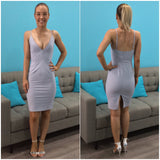 Lara Dress Light Grey