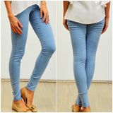 Silver Wishes Denim Look Jeggings Light