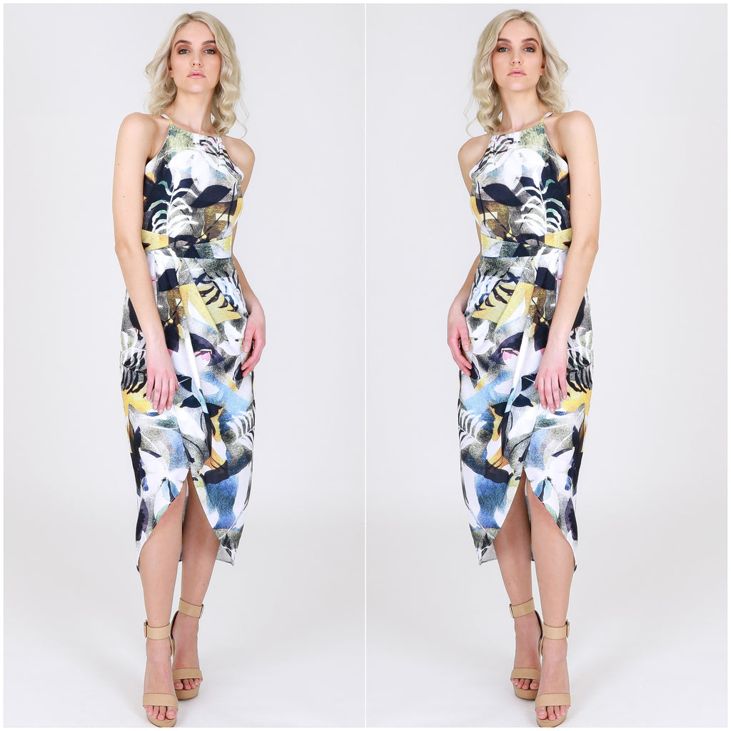 Third Love Watercolour Floral Print Dress