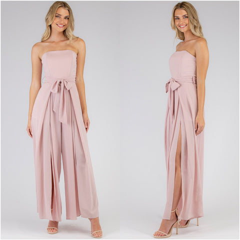 Majestic Jumpsuit Blush