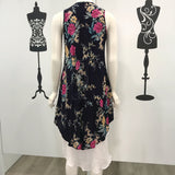 Quelque Layered Floral Print Dress