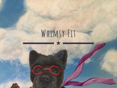 Whimsy Fit Can I Come In Sports Bra