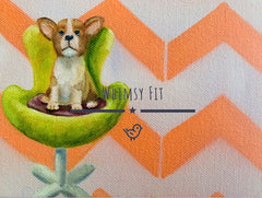 Whimsy Fit Corgi leggings