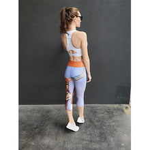 "Load image into Gallery viewer, ""Horns"" Yoga Capri Leggings - Whimsy Fit Workout Wear"