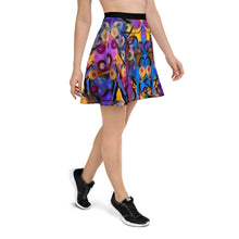 "Load image into Gallery viewer, Whimsy Fit ""Breeze Bright"" Skater Skirt - Whimsy Fit Workout Wear"