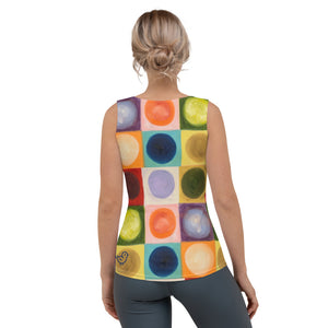 "Whimsy Fit ""Circles"" Tank Top - Whimsy Fit Workout Wear"