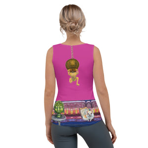 "Whimsy Fit ""Salon Dogs"" Tank Top - Whimsy Fit Workout Wear"