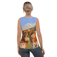 "Load image into Gallery viewer, Whimsy Fit ""Horns"" Tank Top - Whimsy Fit Workout Wear"