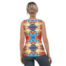"Load image into Gallery viewer, Whimsy Fit ""Lisl"" Tank Top - Whimsy Fit Workout Wear"