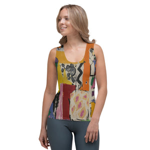 "Squire Girl ""I Spy"" Tank Top - Whimsy Fit Workout Wear"