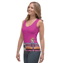 "Load image into Gallery viewer, Whimsy Fit ""Salon Dogs"" Tank Top - Whimsy Fit Workout Wear"