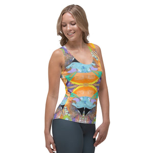 "Squire Girl ""Love Shack"" Tank Top - Whimsy Fit Workout Wear"