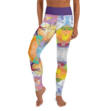 "Load image into Gallery viewer, Squire Girl ""Love Shack"" Yoga Leggings - Whimsy Fit Workout Wear"
