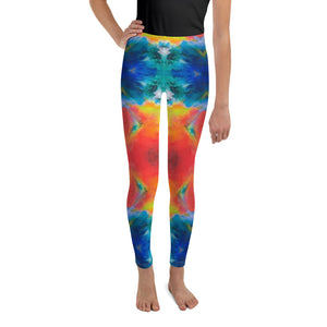 "Whimsy Fit ""Chi Chi"" Girls Leggings - Whimsy Fit Workout Wear"
