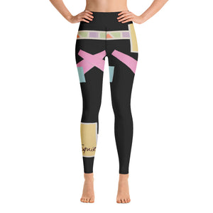 "Squire Girl ""The Space In-Between"" Yoga Leggings - Whimsy Fit Workout Wear"