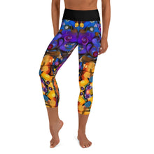 "Load image into Gallery viewer, ""Breeze Bright"" Yoga Capri Leggings - Whimsy Fit Workout Wear"