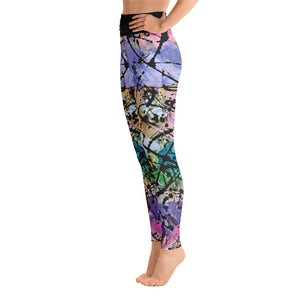 "Squire Girl ""Dessert First"" Yoga Leggings - Whimsy Fit Workout Wear"