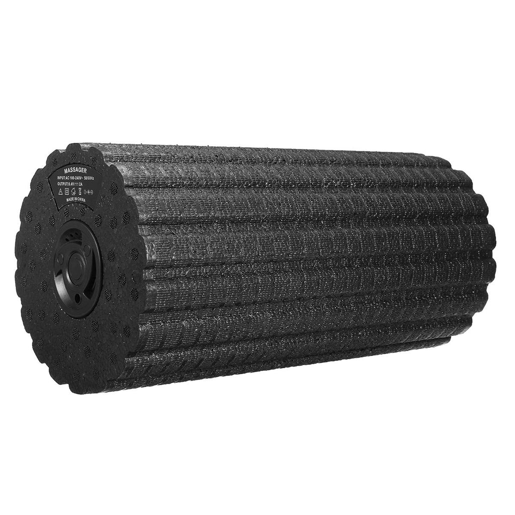 vfrX™ Foam Roller with Vibration for Trainers and Athletes 4 Speed Deep Tissue Massager for Muscle Pain Relieve Electric Massager