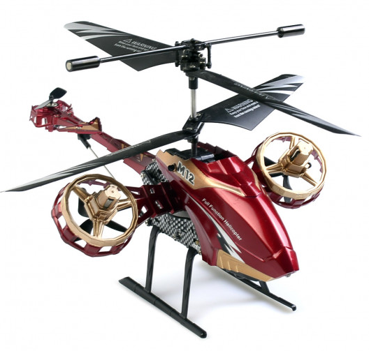 Skytech RC Helicopter 4.5 CH M12 Infrared that Shoots Bubbles with Gyro