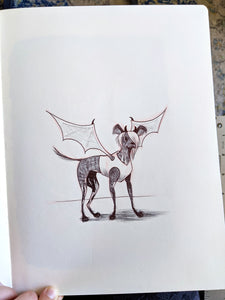 Devil Doggie Original Artwork