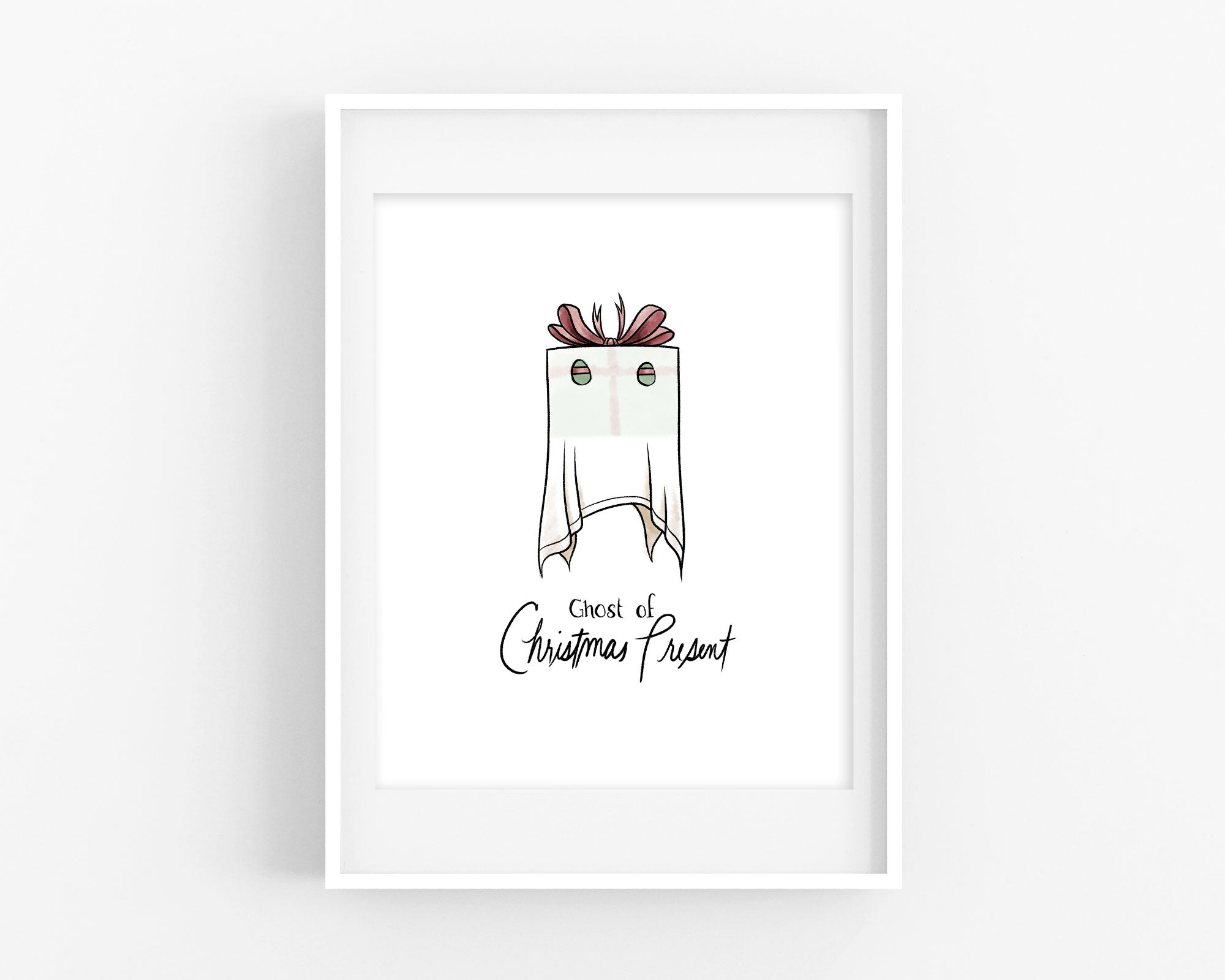 Ghost of Christmas Present Print