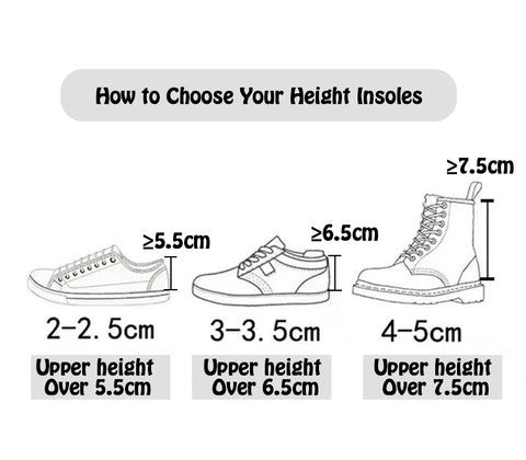 How to Choose Your Height Insoles