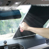 Car Retractable Windshield  Sunshade