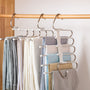 Stainless Steel Space Saving Pants Hangers