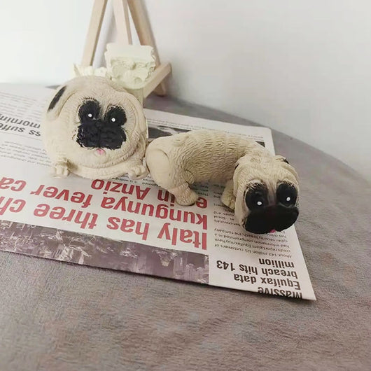 Pug Squishy Fidget Toy