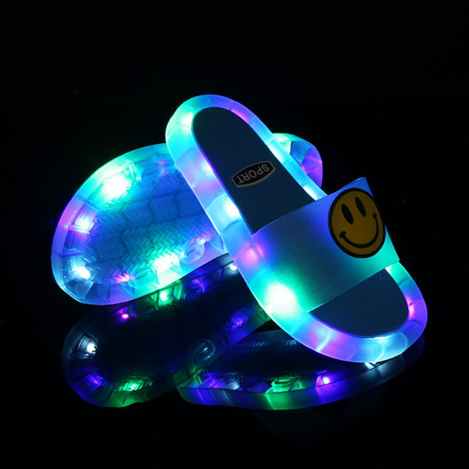 Latest Smile Light up kids sandals 2020
