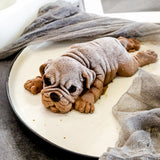 3D Shar Pei Silicone Cake Molds