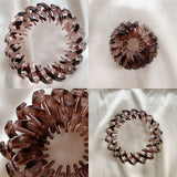 Vintage Geometric Retractable Hair Loops(2PCS)