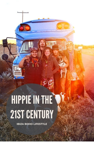 Living like a hippie in the 21st century