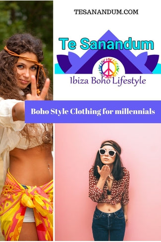 Boho Style Clothing for millennials